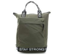 Modernist Rucksack-Tasche 14″ olivgrün
