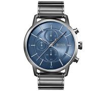 Chronograph grau/blau