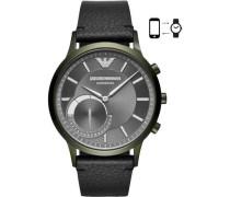 Connected Hybrid-Smartwatch grün