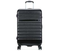 Corium 4-Rollen Trolley schwarz 65 cm