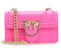 Mini Love Fluo Schultertasche pink