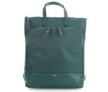 Mayfair Harewood Rucksack-Tasche 15″ smaragdgrün