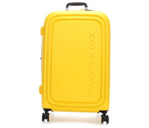 Logoduck + 4-Rollen Trolley gelb 75 cm