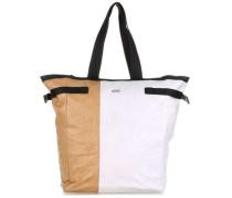 Vary 6 Shopper braun/weiß