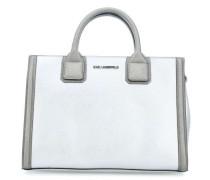 K/Klassik Handtasche silber