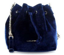 Velvet Beuteltasche blau