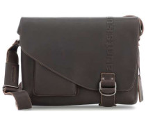 Hunter Medium Judd Kuriertasche dunkelbraun