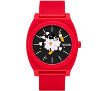 Mickey Time Teller P Quarzuhr rot