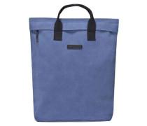 Suede Till Rucksack-Tasche blau