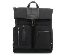 Black Square Laptop-Rucksack 15,6″ schwarz