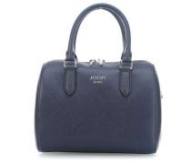 Saffiano Jeans Aurora Handtasche dunkelblau