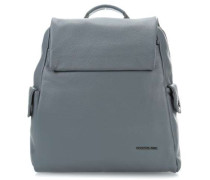 Mellow Leather Rucksack grau
