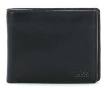 Leather Small Asolo Geldbörse schwarz