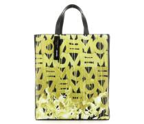 Paperbag PaperbMA1 Handtasche schwarz/gelb