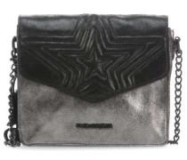 Tucana Schultertasche schwarz metallic