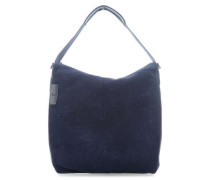 Manhattan Winter Beuteltasche blau