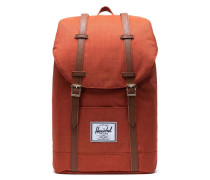 Classic Retreat Rucksack 15″ orange