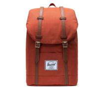 Classic Retreat Rucksack 15″ orange