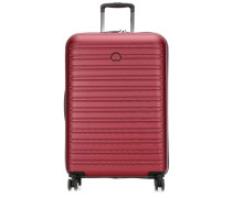 Segur 2.0 4-Rollen Trolley rot metallic