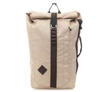 Scrambler Rolltop Rucksack 15″ beige