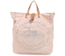 Lavaggio Stone Shopper rosa
