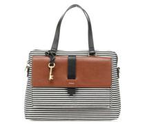 Kinley Handtasche schwarz/weiß