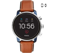 Q Explorist Smartwatch blau metallic