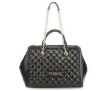 New Quilted Handtasche schwarz