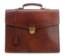 Dutch Masterpiece Aktentasche 15″ cognac