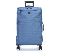 X-Travel 4-Rollen Trolley jeans 77 cm
