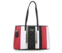 Fashion Stripes Shopper mehrfarbig