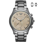 Connected Hybrid-Smartwatch silber