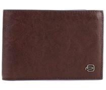 B2S RFID Geldbörse dunkelbraun