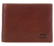 Monte Rosa RFID Geldbörse braun