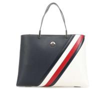 TH Core Handtasche blau/weiß