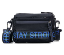 Roots Strong Yma Schultertasche dunkelblau