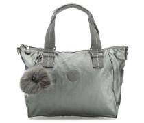Basic Plus Amiel Handtasche silber metallic