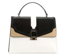 Portena Handtasche schwarz/weiß
