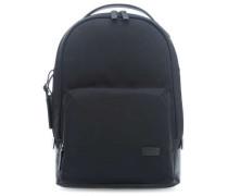 Harrison Nylon Webster Laptop-Rucksack schwarz