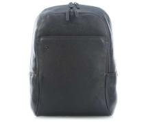 Black Square Laptop-Rucksack 14″ schwarz