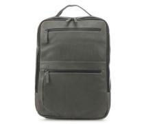 Den Haag Laptop-Rucksack 16″ olivgrün