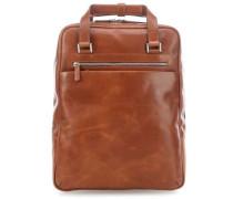 Chicago Laptop-Rucksack 15.6″ cognac