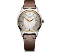 Alliance Schweizer Uhr gold/silber