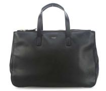 Mayfair Luxe Derby Handtasche 14″ schwarz