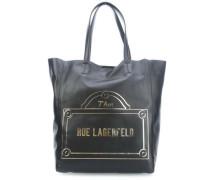 Rue Lagerfeld Shopper schwarz