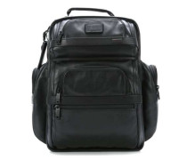 Alpha Business Leather Laptop-Rucksack 15″