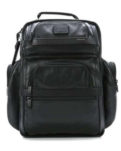 Alpha Business Leather Laptop-Rucksack 15″