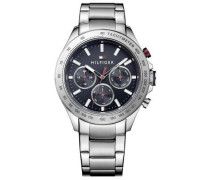 Sophisticated Chronograph silber