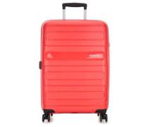 Sunside 4-Rollen Trolley rot cm