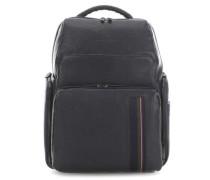 Black Square Laptop-Rucksack 15.6″ dunkelblau